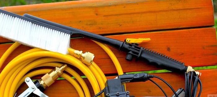 洗车店高压水枪的稳定优势